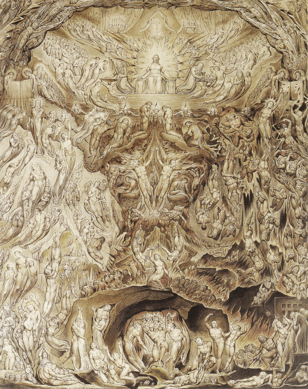 William Blake: A Vision of The Last Judgement