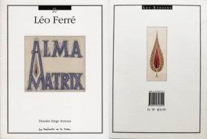 Serge Arnoux: Alma Matrix (cover)