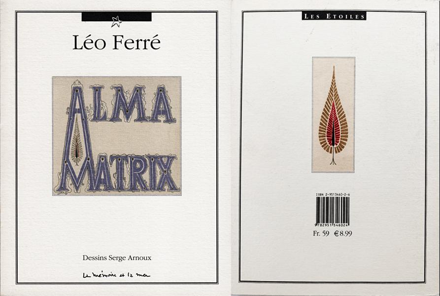 Serge Arnous:Alma Matrix (cover)