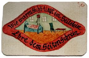 Moravian devotional image