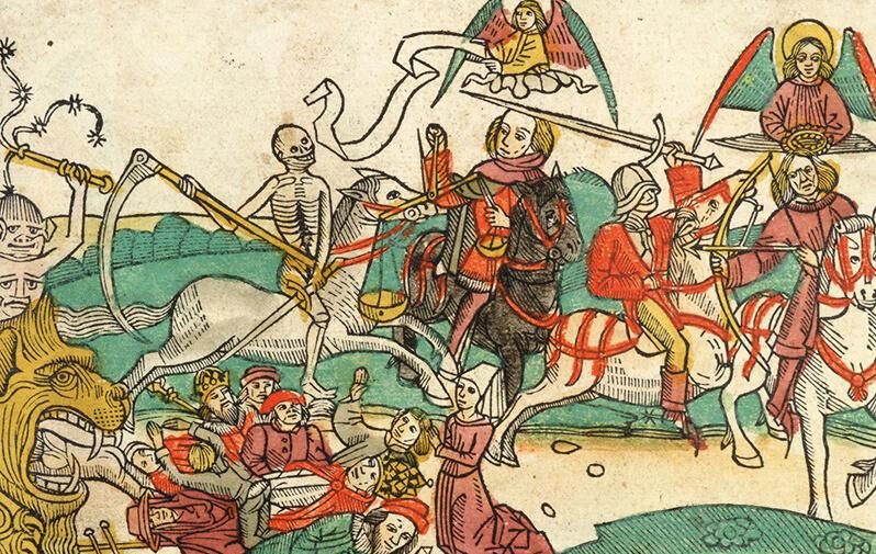 Anon: Koberger Bible (1483) Four Horsemen