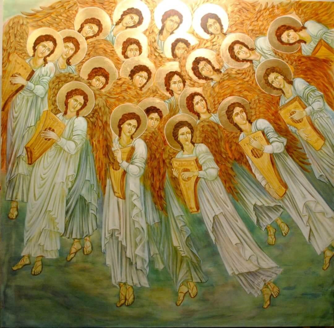 A Vision of Angels, by Edward Burne-Jones 1873