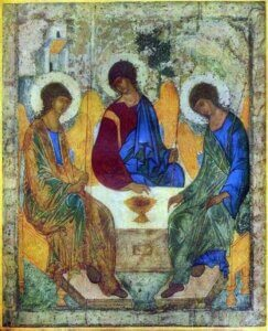 Andrei Rublev, The Trinity