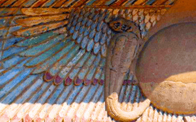 Blake's Annihilation by the Eye of Ra: On Snakes, Seraphim and the Solar YHWH