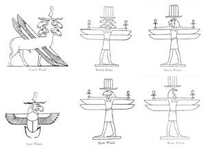 Egyptian Wind Gods