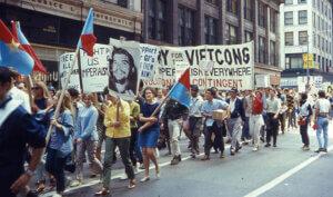Anti-War March Chicago 1968